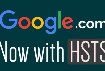 Google 域名支持 HSTS  强制访问定向到HTTPS安全协议-SSL中国
