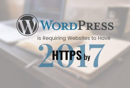 WordPress将从2017年开始要求用户使用HTTPS-SSL中国